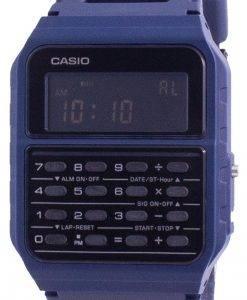 カシオユースデータバンクデュアルタイムCA-53WF-2BCA53WF-2Bユニセックスウォッチ