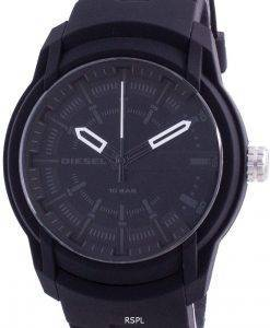 Diesel Armbar Black Dial Silicone Strap Quartz DZ1830 100M Men's Watch