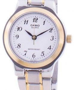 カシオ石英アナログ LTP 1131 G 7BRDF LTP-1131 G-7BR 女性の腕時計