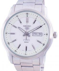 Seiko 5 Automatic White Dial SNKP09 SNKP09K1 SNKP09K Men's Watch