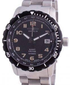 Zeppelin Night Cruise Black Dial Automatic 7264M-5 7264M5 200M Men's Watch