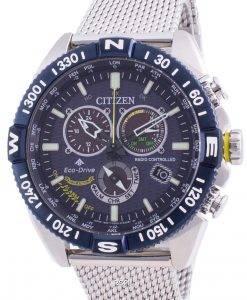 Citizen Promaster Navihawk Blue Angels Eco-Drive CB5848-57L 200M Men's Watch