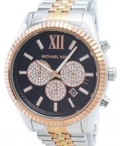 マイケルコースレキシントンMK8714ダイヤモンドアクセントクォーツメンズ腕時計