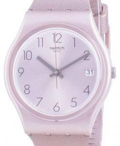 Swatch Pinkbaya 로즈 골드 톤 다이얼 쿼츠 GP403 남성용 시계