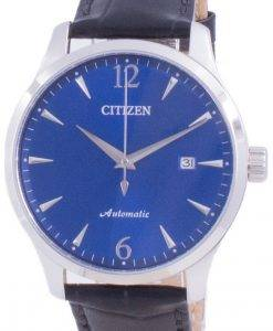 Citizen Blue Dial kalv læderrem mekanisk NJ0110-18L Herreur
