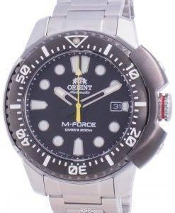 Orient M-Force AC0L 70th Anniversary Automatic Diver&#39,s RA-AC0L01B00B Japan Made 200M Herreur