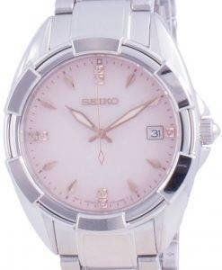 Seiko Discover More Diamond Accents Quartz SKK725 SKK725P1 SKK725P 100M Dameur