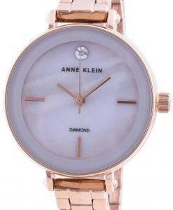 アンクライン3386LGRGクォーツダイヤモンドアクセントレディース腕時計