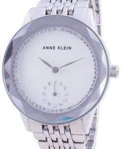 アンクラインスワロフスキークリスタルアクセント3507SVSVクォーツレディース腕時計