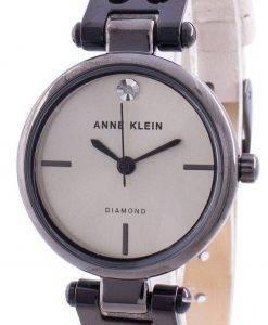 アンクライン本物のダイヤモンド3513GYCRクォーツレディース腕時計