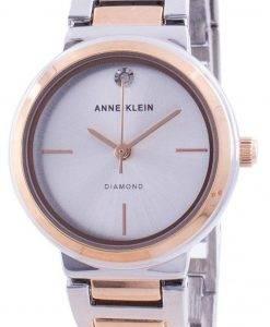 アンクライン本物のダイヤモンド3529SVRTクォーツレディース腕時計