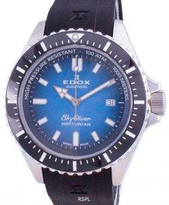 Edox Skydiver Neptunian Automatic Diver's 801203NCABUIDN 80120 3NCA BUIDN 1000M Men's Watch