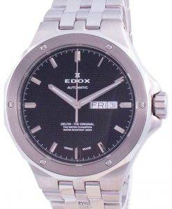 Edox Delfin Day Date Automatic Diver's 880053MNIN 88005 3M NIN 200M Men's Watch