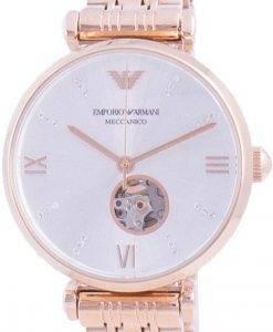 エンポリオアルマーニジャンニダイヤモンドアクセント自動巻きAR60023レディースウォッチ