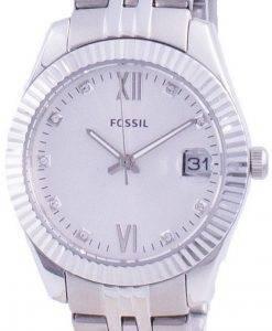 FossilScarletteミニダイヤモンドアクセントクォーツES4897レディースウォッチ
