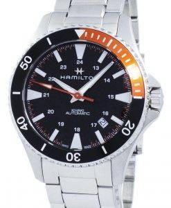 ハミルトンカーキネイビースキューバオートマチックH82305131メンズ腕時計