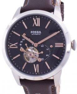 FossilTownsman自動オープンハートダイヤルME3061メンズウォッチ
