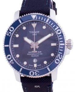 Tissot Seastar 1000 Powermatic 80 Silicium Diver&#39,s T120.407.17.041.01 T1204071704101300Mメンズウォッチ