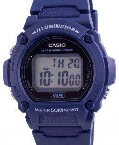 カシオユースイルミネーターデジタルW-219H-2AW-219H-2メンズウォッチ