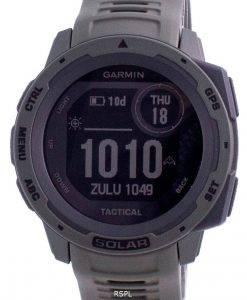 Garmin Instinct Solar Tactical Edition Grünes Silikonband 010-02293-04 Multisportuhr