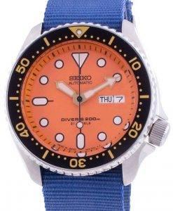 Seiko Automatic Diver&#39,s SKX011J1-var-NATO8 200M Japan Made Herreur